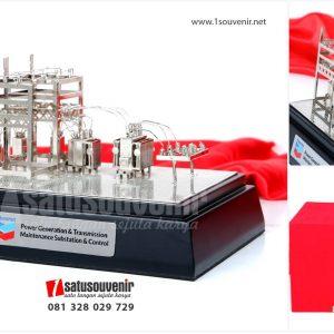 SMM 204 Souvenir Miniatur Power Generation & Transmission maintenance substation & control